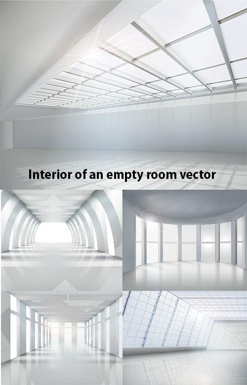 Interior of an Empty Room Vector-5 Files