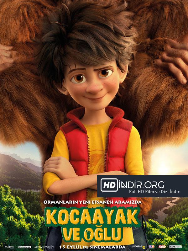Kocaayak ve Oğlu - The Son Of Bigfoot (2017) Türkçe Dublaj HD Film indir