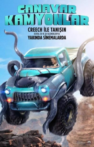 Canavar Kamyonlar - Monster Trucks 2016 m720p - m1080p DUAL TR-ENG Türkçe Dublaj  Tek Link Film indir