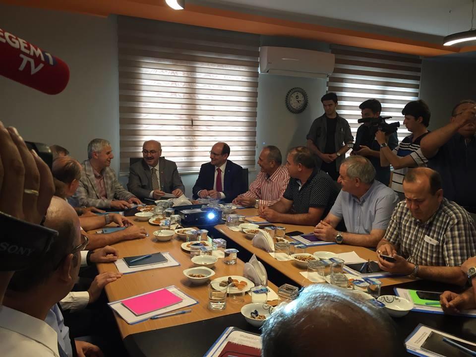 Söke Organize Sanayi Bölgemizin Müteşebbis Heyet Toplantısı Gerçekleştirildi