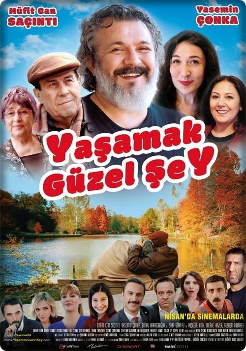 Yaşamak Güzel Şey 2017 (Yerli Film) 720p DVDRip Upscale DUAL