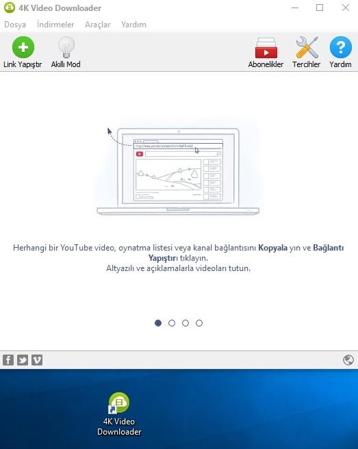 4K Video Downloader 4.4.5.2285 Türkçe | Katılımsız