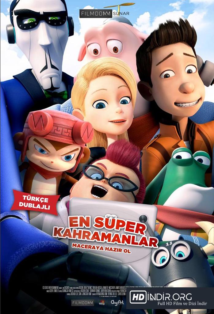 En Süper Kahramanlar - Bling (2016) Türkçe Dublaj HD - Film indir