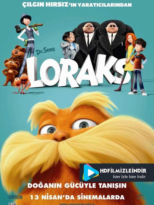 Loraks - The Lorax (2012) Türkçe Dublaj HD Film İzle İndir