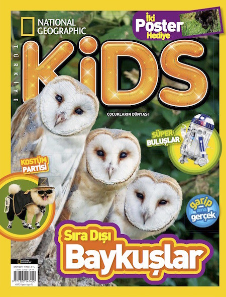 National Geographic Kids Ekim 2017