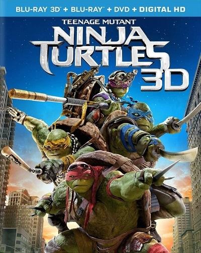 Ninja Kaplumbağalar 3D HSBS 2014 M1080p Bluray x264  Türkçe Dublaj