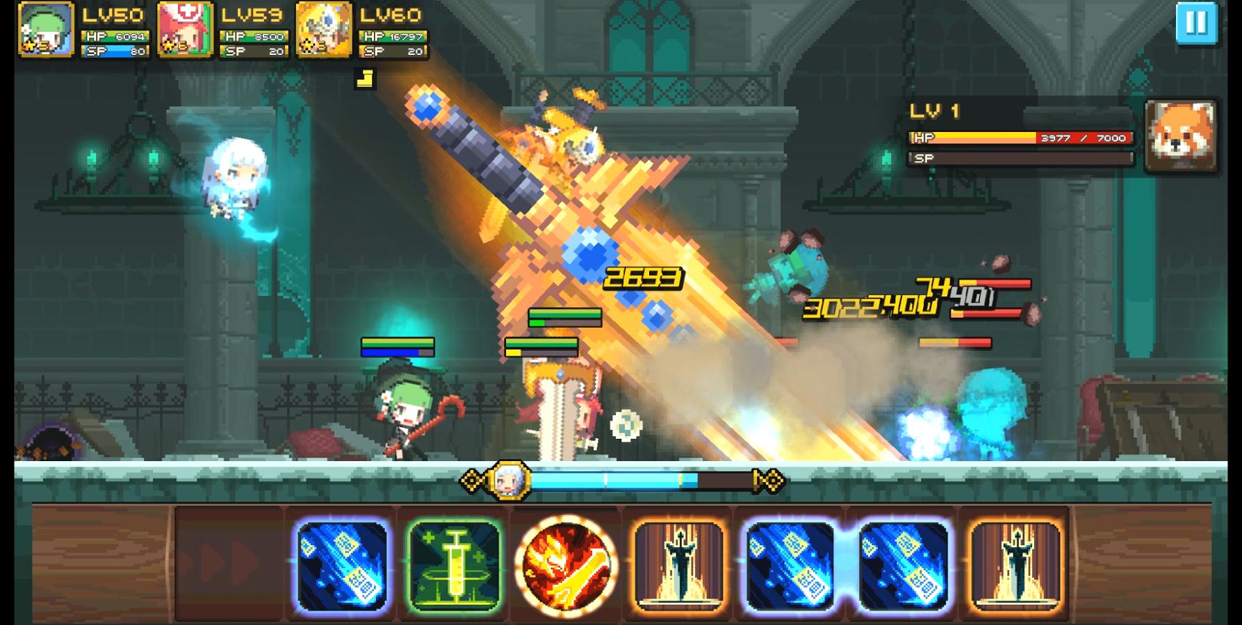 Crusaders Quest Apk Mod