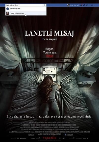 Lanetli Mesaj – Friend Request 2016 BDRip XViD Türkçe Dublaj – Film indir