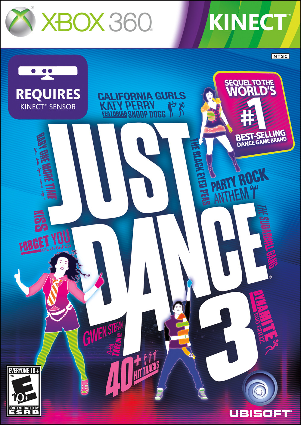 Just Dance 3 Xbox 360 [Kinect-DLC] İndir [MEGA] [JTAG-RGH