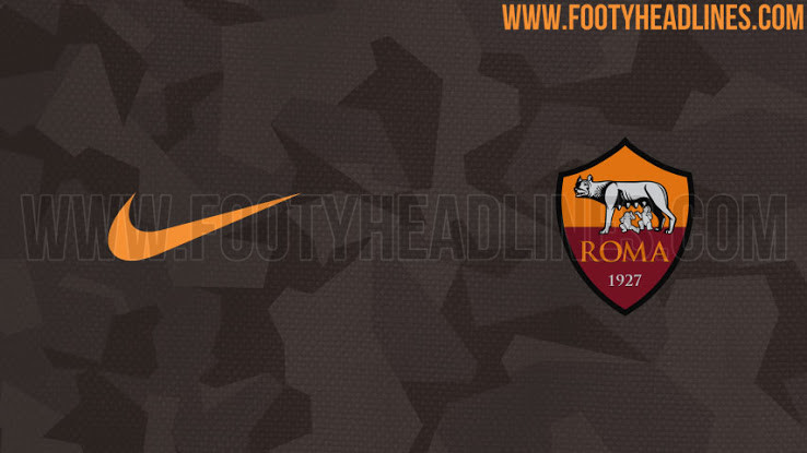 As Roma 17 18 Third Kit 2