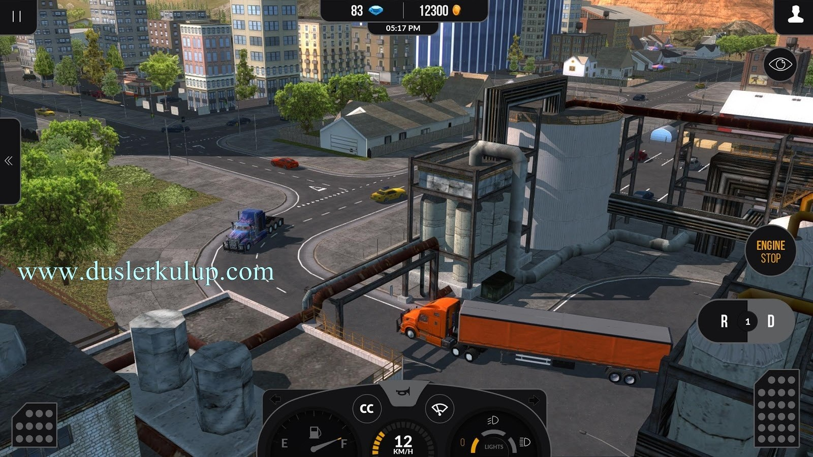 truck simulatör pro apk android oyununu full yükle