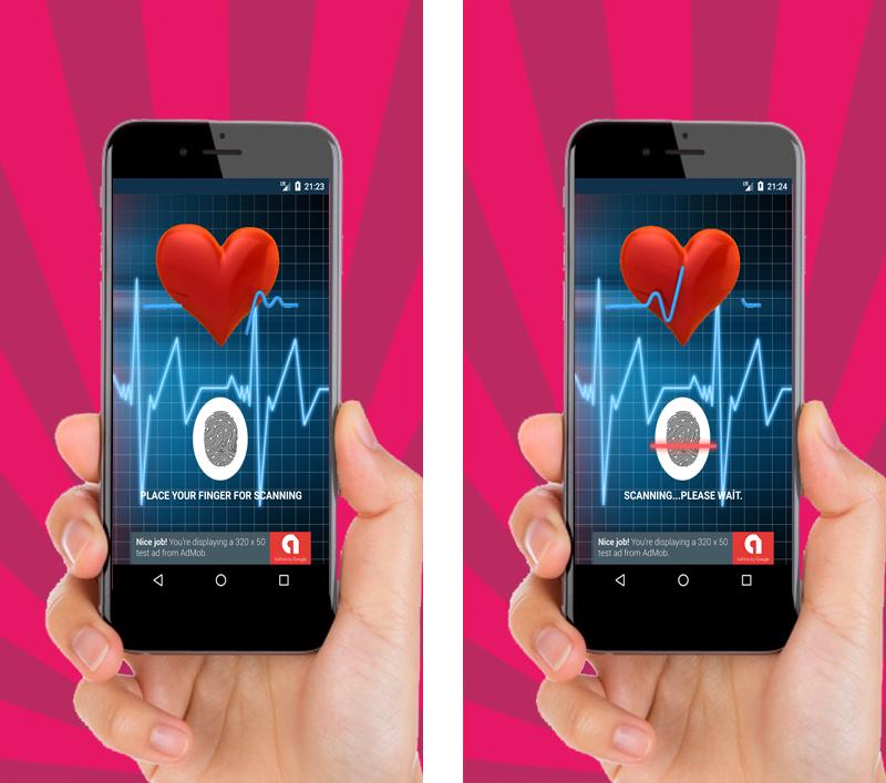 Finger Blood Pressure Prank + AdMob - 1