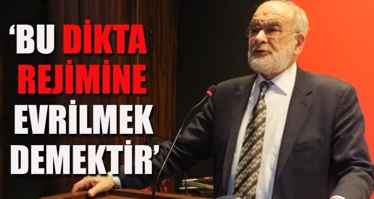 'HAYIR'CI MİLLİ GÖRÜŞTEN AKP'YE DİKTA RESTİ