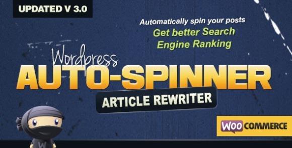 WordPress Auto Spinner v3.8.1 - Articles Rewriter Plugin Download