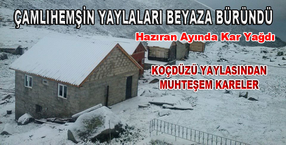 �aml�hem�in Yaylalar� Beyaza B�r�nd�