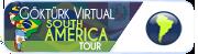 South America - Güney Amerika turunu tamamlayan uyelere verilir.