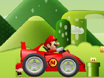 Mario Hızlı Yarış Oyunu