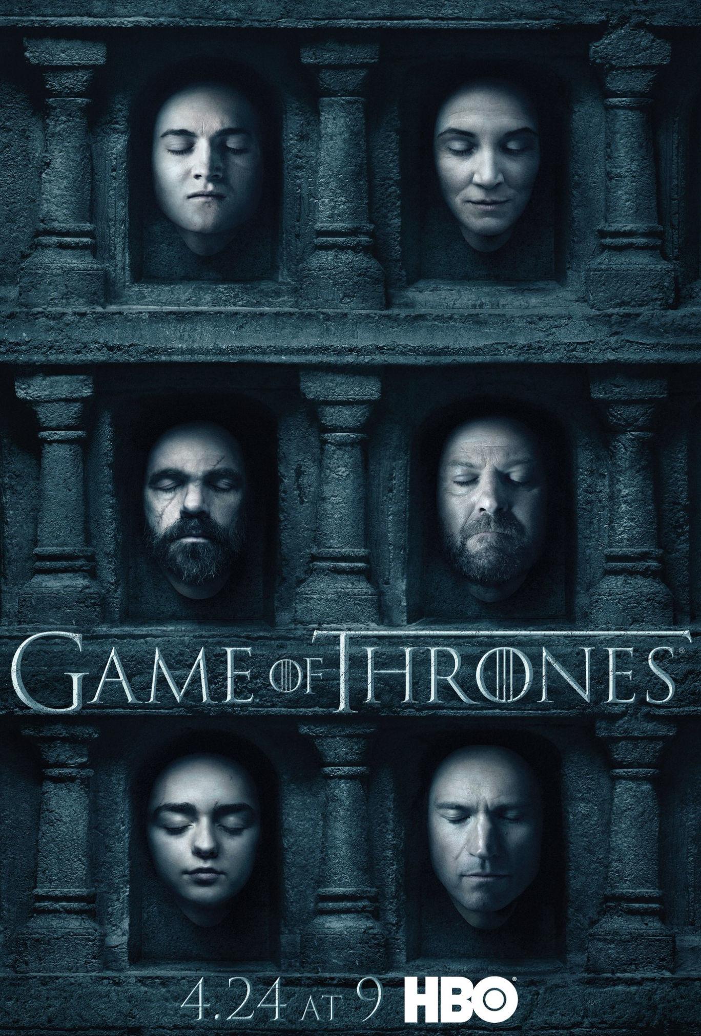 Taht Oyunları - Game of Thrones 2011 Sezon 6 Tüm Bölümler HDTV 720p x264 AC3 DUAL (TR-EN)