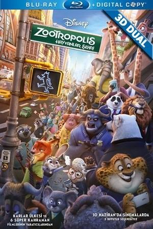 Zootropolis: Hayvanlar Şehri 3D - Zootopia 3D 2016 3D Half-SBS 1080p DUAL TR-EN - Tek Link indir