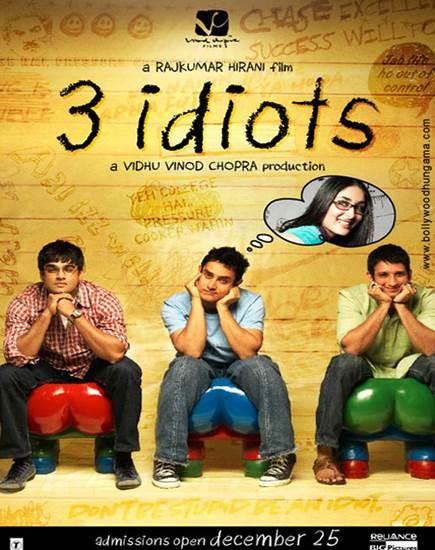 3 Aptal - 3 Idiots 2009 ( BRRip XviD ) Türkçe Altyazı - Tek Link
