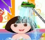 Dora Banyo Zamanı Oyunu