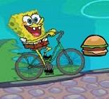 Sünger Bob Bisiklette Oyunu
