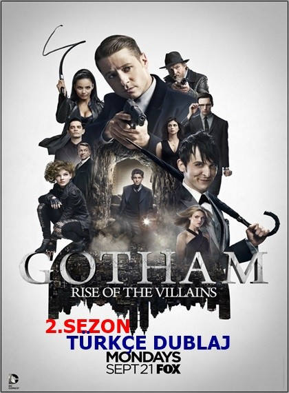 Gotham 2015 2.Sezon WEB-DL XviD Türkçe Dublaj Güncel – Tek Link