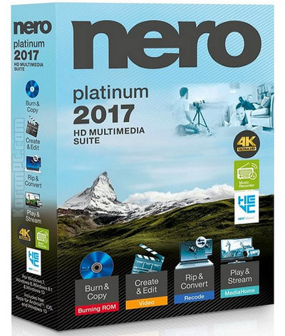 Nero 2017 Platinum 18.0.06100 | Katılımsız