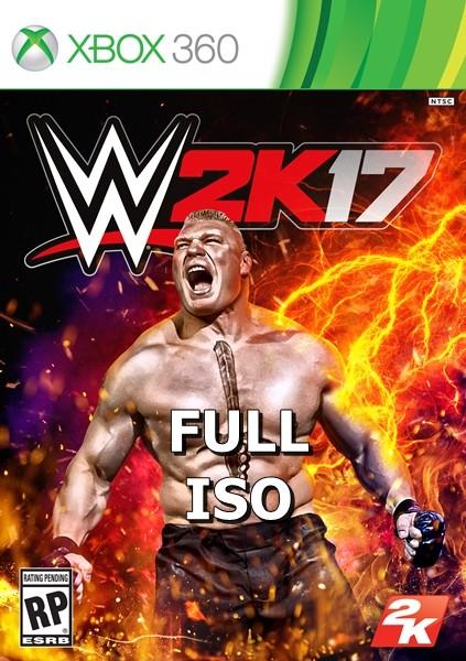 WWE 2K17 Xbox 360 Oyun İndir [MEGA] [Region Free] [FULL-ISO-ÇIKTI]