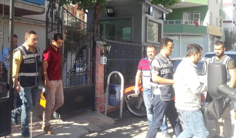 Mut'ta FET� operasyonunda g�zalt�na al�nan 5 ki�iden 2'si tutukland�