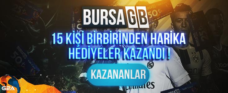 500 TL Degerindeki BursaGB ve G2A Ortak Çekilisinin Sonuçlari Açiklandi !