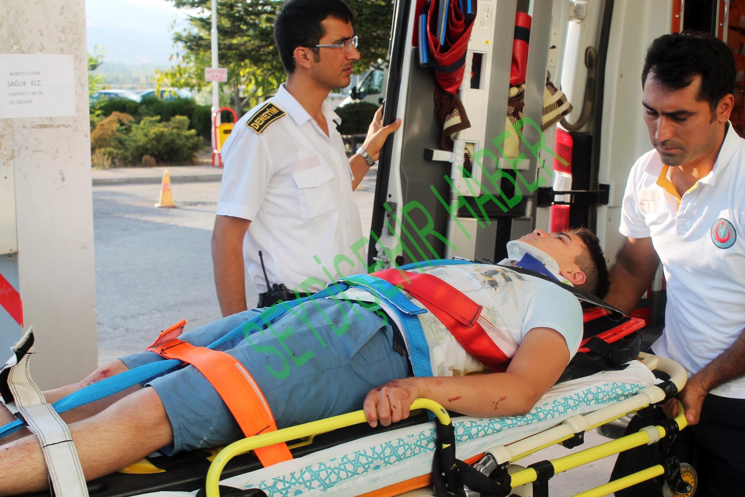 Seydişehir Trafik Kazası 4 YaralıVar