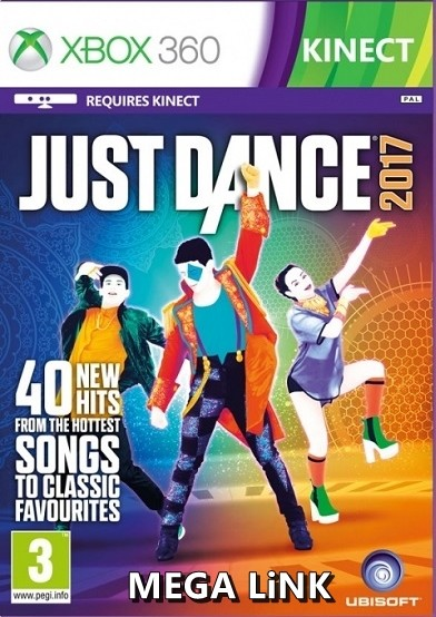 Just Dance 2017 Xbox 360 Oyun İndir [MEGA] [FULL-ISO] [Kinect-PAL/NTSC-J]