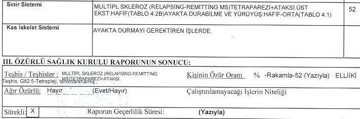 lEvONl - MS hastasıyım. 2011 tarihli raporla ÖTV'siz araç alabilir miyim?
