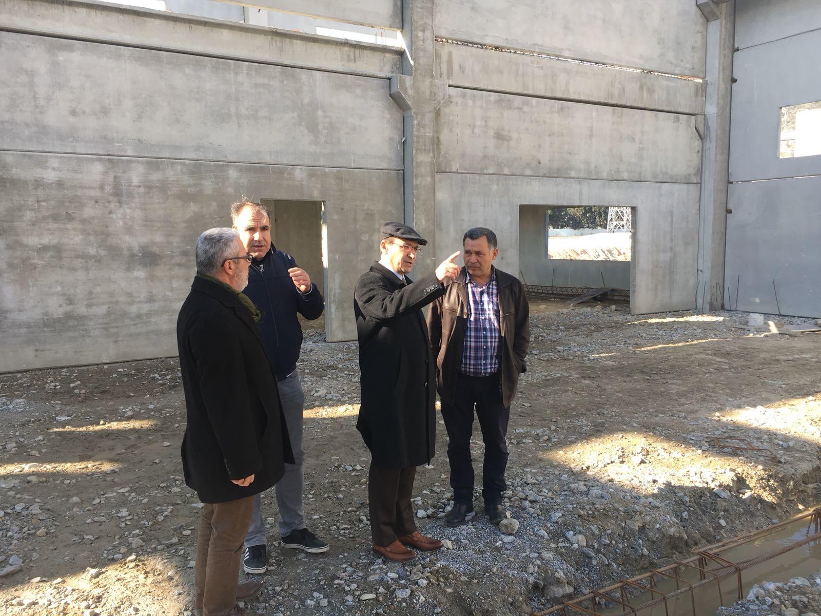 Yönetim Kurulumuz İnşaatı Devam Eden Fabrikaları Ziyaret Etti