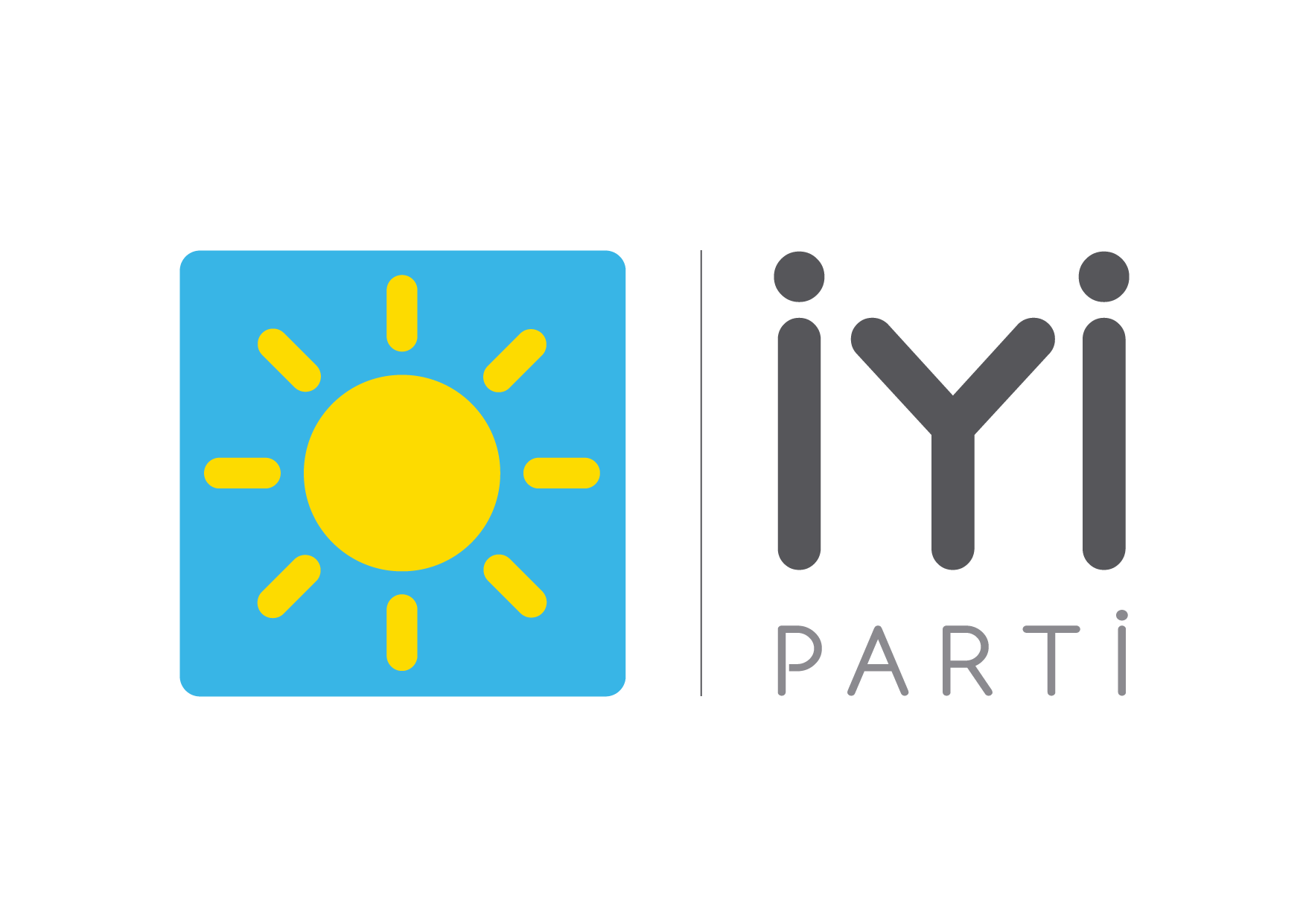 İyi Parti Logo Vektörel Çizim