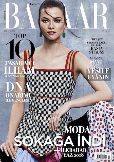 Harper's Bazaar Şubat 2018