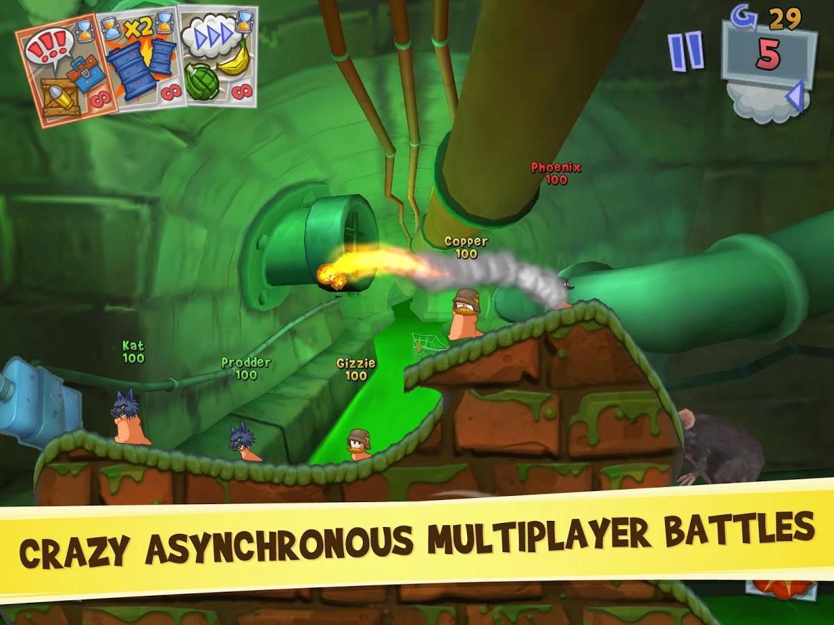 Worms 3 Apk Oyun