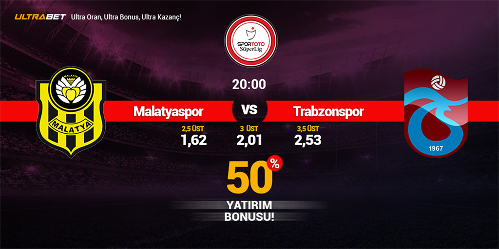 Y.Malatyaspor-Trabzonspor Canlı Maç İzle