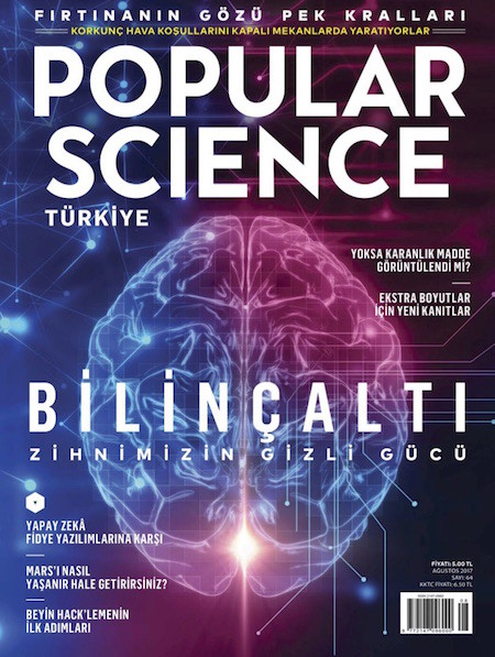 Popular Science Ağustos 2017
