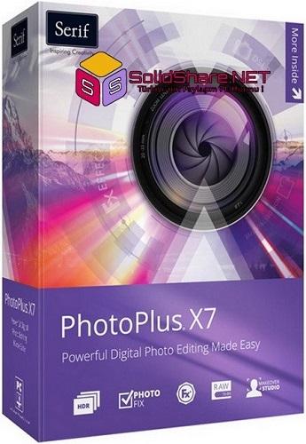 Serif PhotoPlus X7 17.0.1.20 Final | Full Programlar