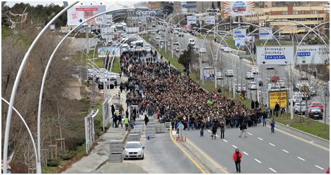 Gezi ve Berkin Elvan için Yürüyüş