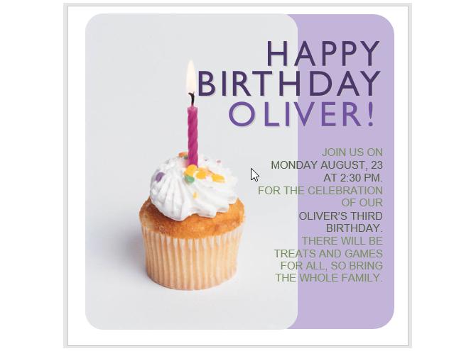 Cupcake'li Doğum Günü Partisi