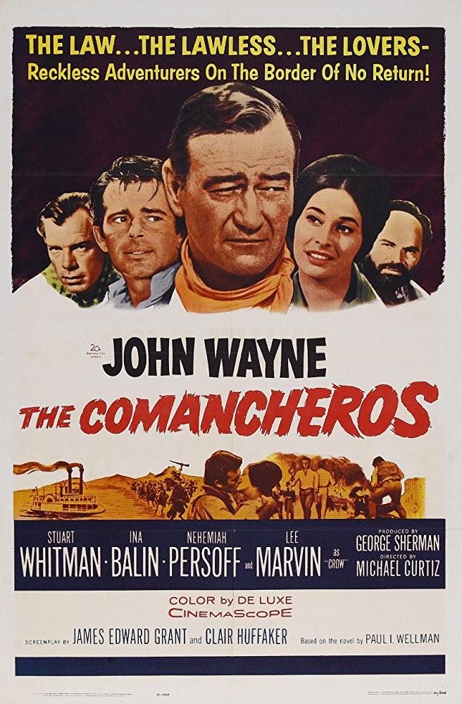 Dehşet Ülkesi – The Comancheros 1961 izle