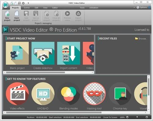 VSDC Video Editor Pro 5.8.2.796/797 (x86/x64) Multilingual Full İndir