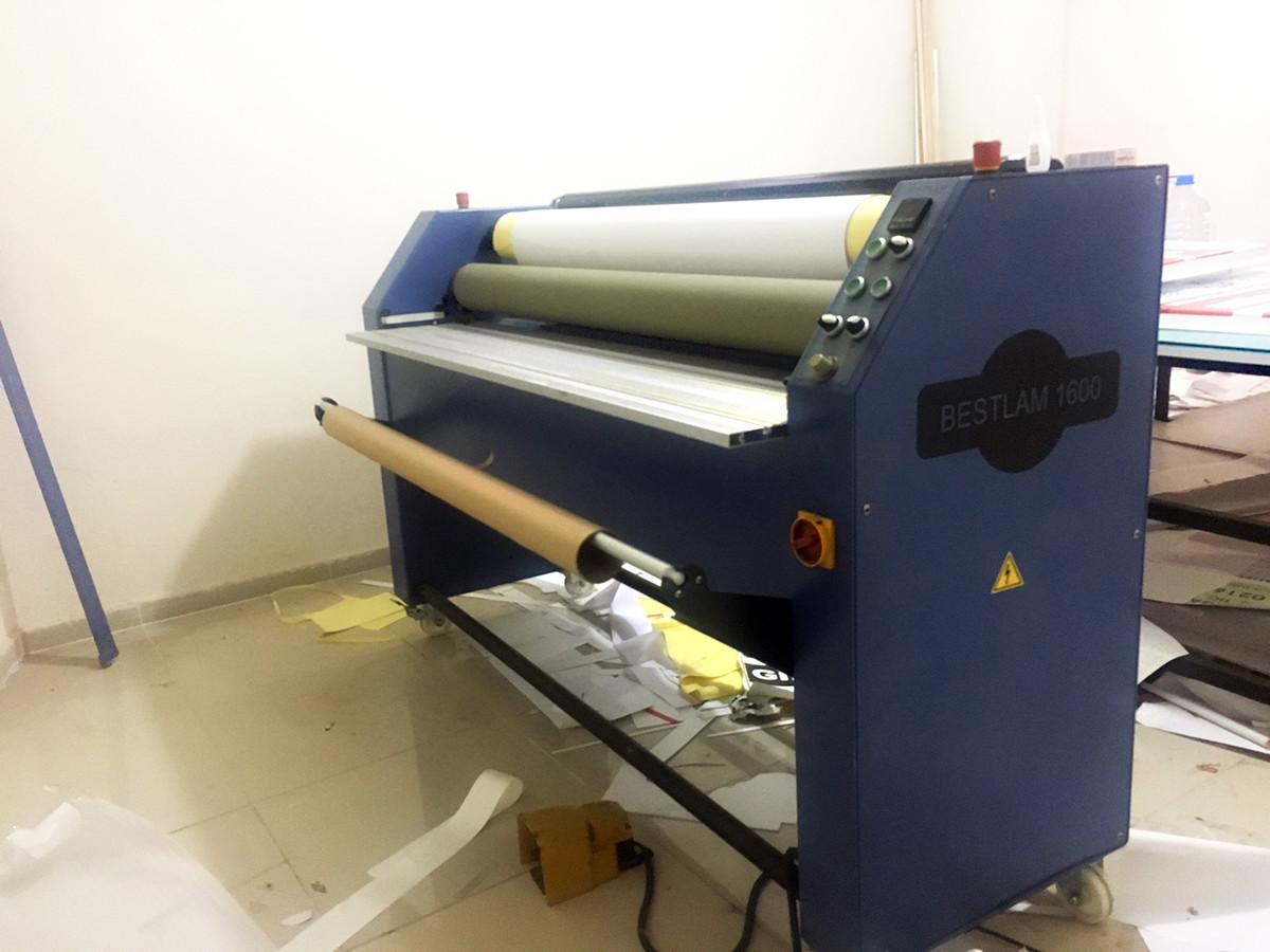 Laminasyon Makinası (160'lık soğuk) - Türkiye Geneli