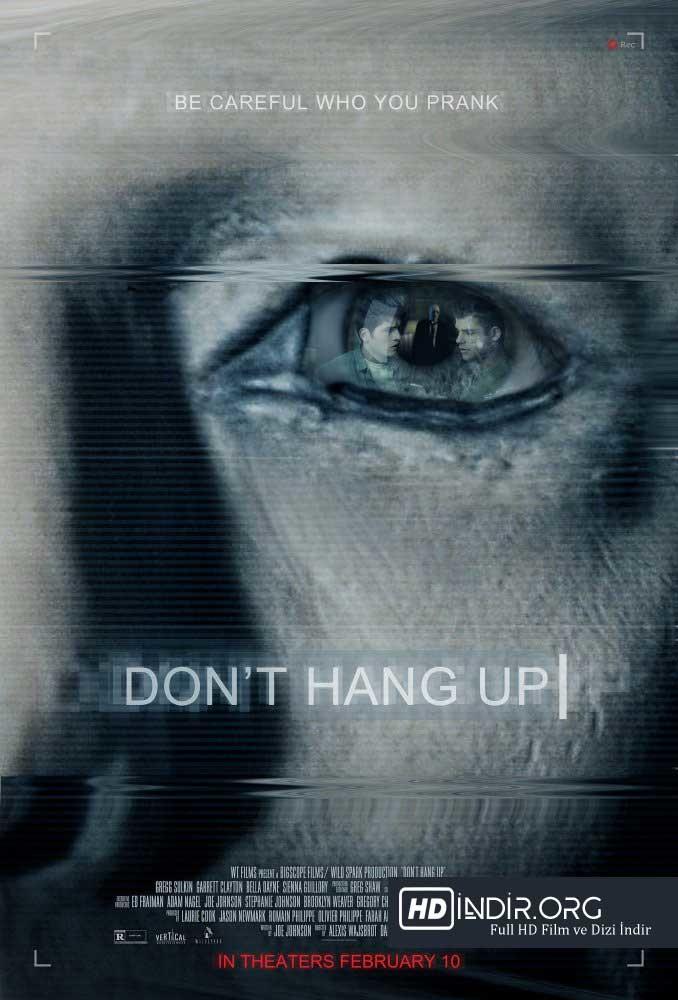 Tehlikeli Arama - Dont Hang Up (2016) Türkçe Dublaj HD indir
