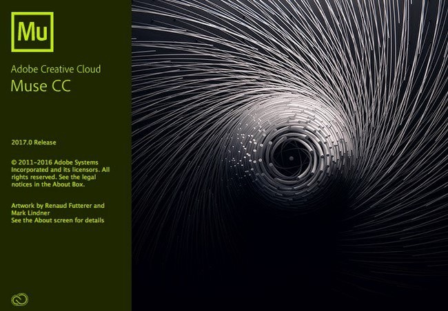 Adobe Muse CC 2017.1.0.821 (x64) Full İndir
