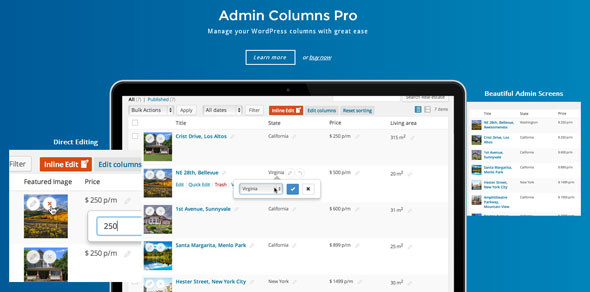 Admin Columns Pro v4.1 - WP Columns Manager Full İndir