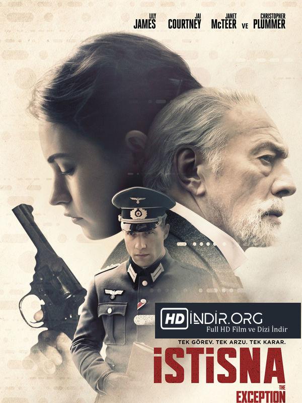 İstisna - The Exception (2016) Türkçe Dublaj HD Film İndir
